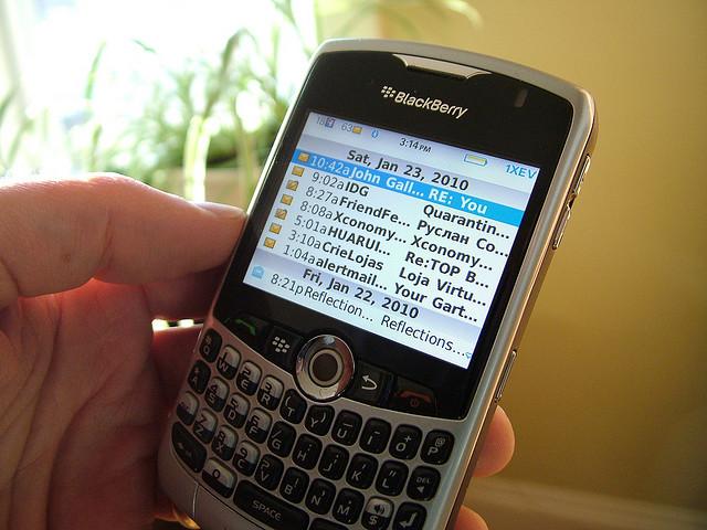 Cara Mengatasi Masalah Yang Sering Terjadi Pada Blackberry