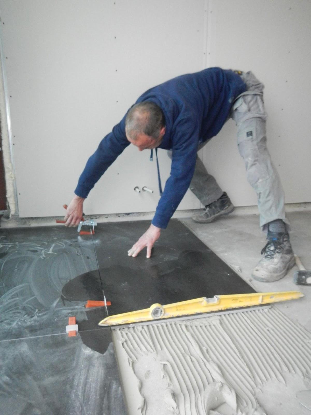 Peter en Sil verbouwen  De keukenvloer