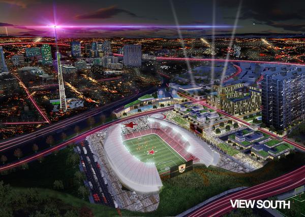 Elk Grove's MLS Bid Trumped? Letter of Intent Signed For Railyard Soccer Stadium