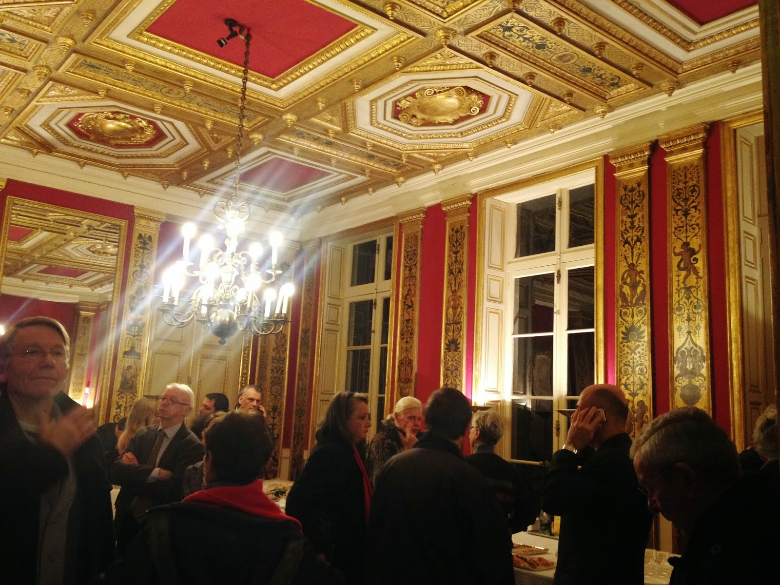 Guests at the Mairie du 7e, Paris
