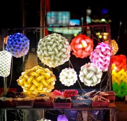 Lampu gantung hias unik minimalis terbaru