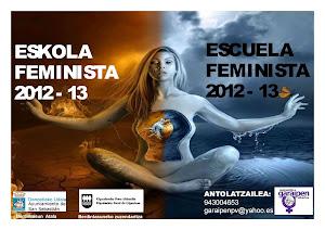 ESCUELA FEMINISTA GARAIPEN 2012-13