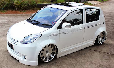 Modification Daihatsu Sirion, Fixed can be lauched