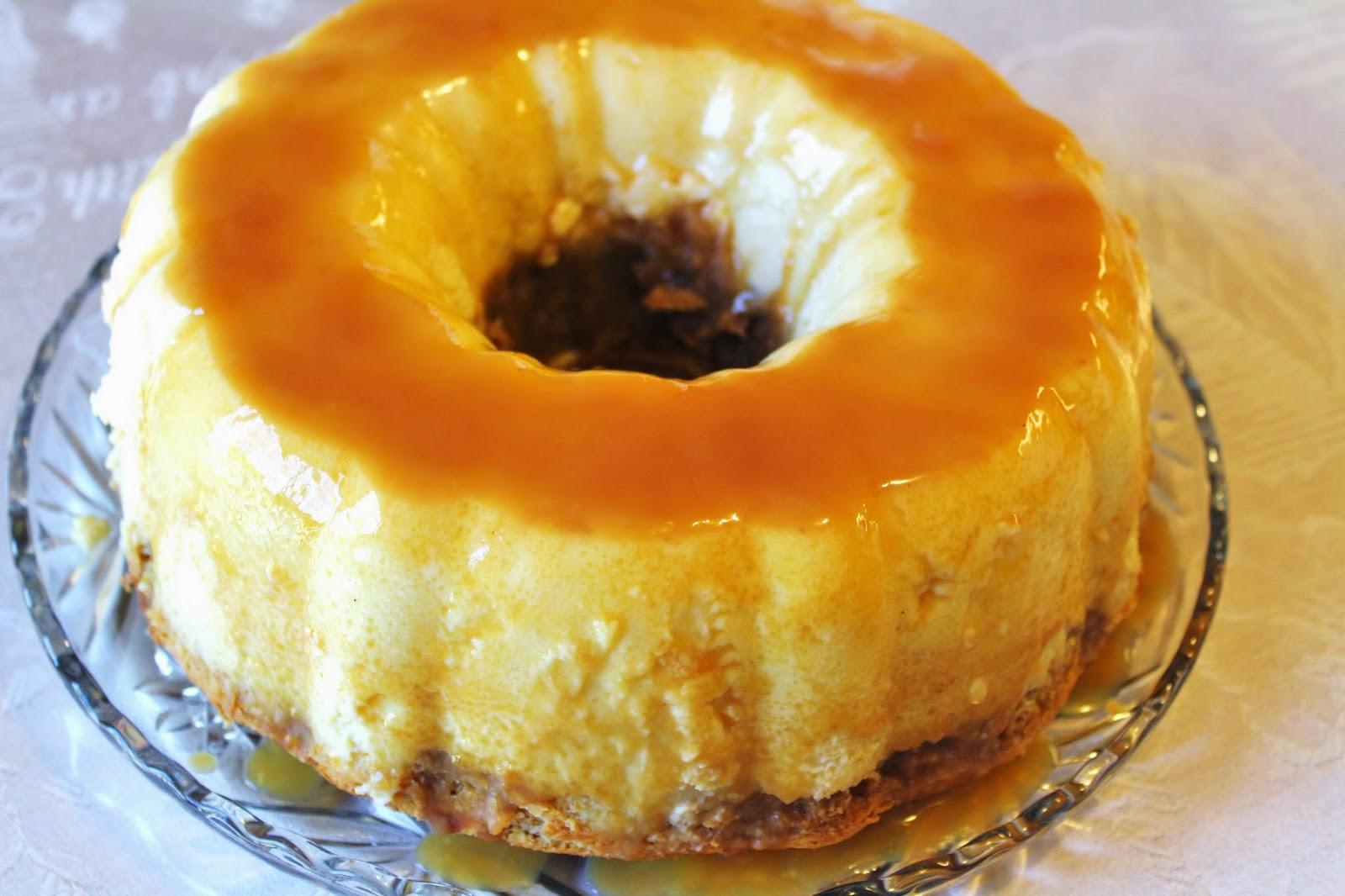 Blog As You Bake Pumpkin Flan Cake