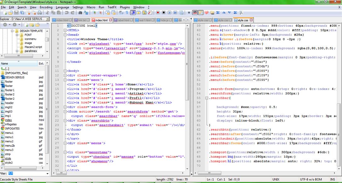 Download Notepad++ Software Text Editor Direkomendasikan Untuk Web Programming