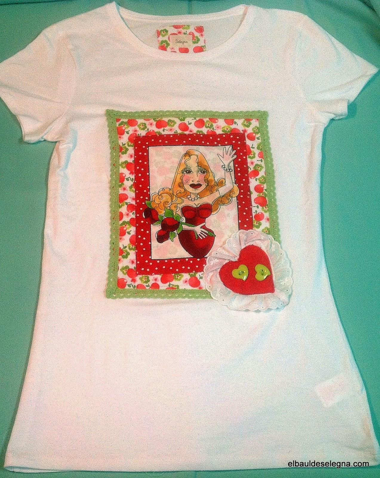 Camiseta chica loca 08