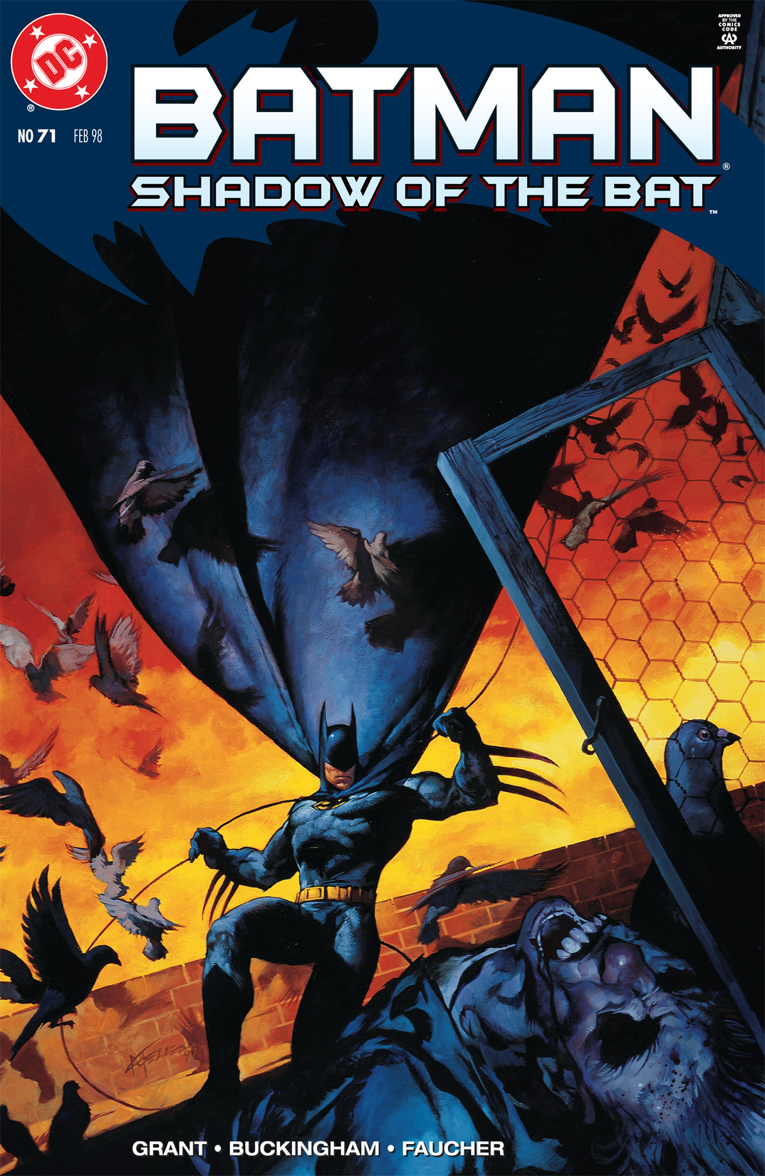 Batman: Shadow of the Bat 71 Page 1