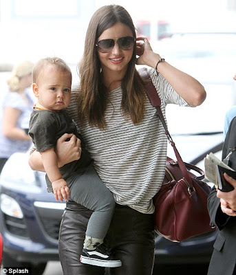 Miranda Kerr With Her Child