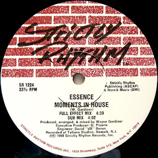 Essence - Just A Touch / Moments In House
