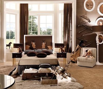 diseño dormitorio caballo