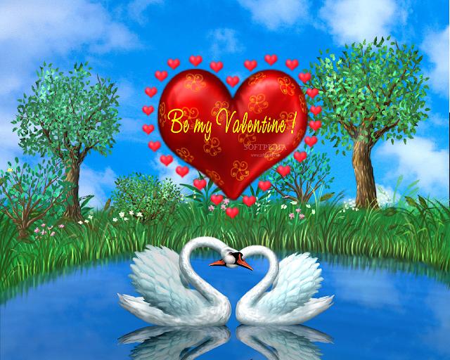hình ảnh về tình yêu đẹp lãng mạn dễ thương, trái tim và đôi ngỗng