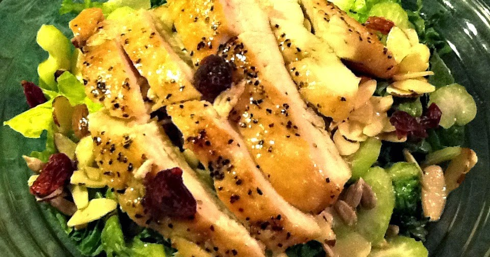 asian chicken salad w vinegar