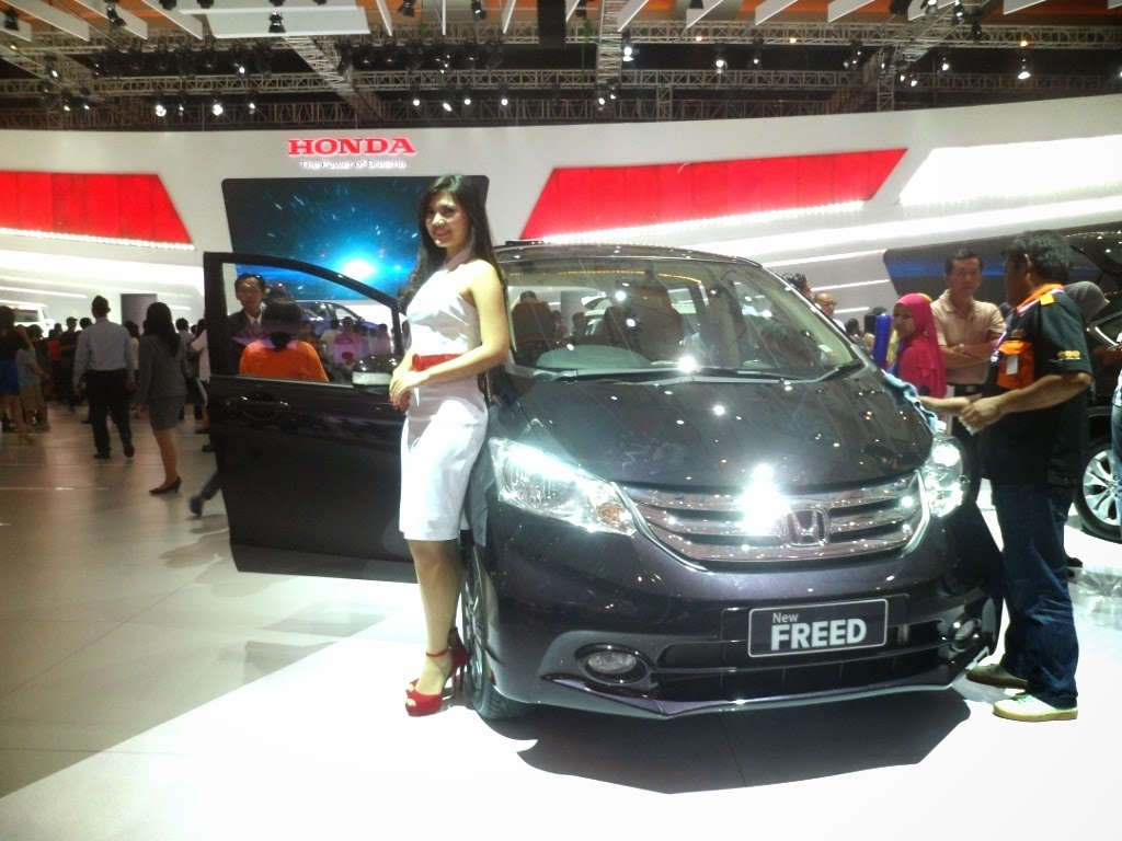 SPG Honda New Freed IIMS 2014