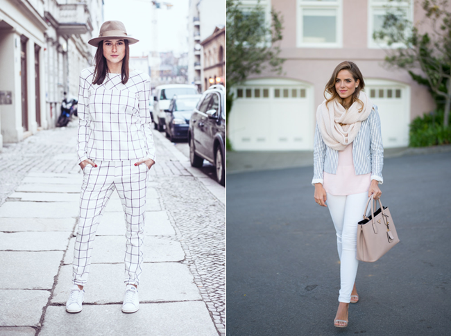 Blogger Bazaar, white all over look, weißer Hosenazug, minimal Look, clean Looks, Candycolours, Gal meets Glam