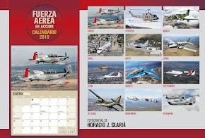 Calendario Aeronáutico 2019