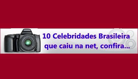 Confira as 10 Celebridades que tiveram seus vídeos ou Fotos vazados na internet.