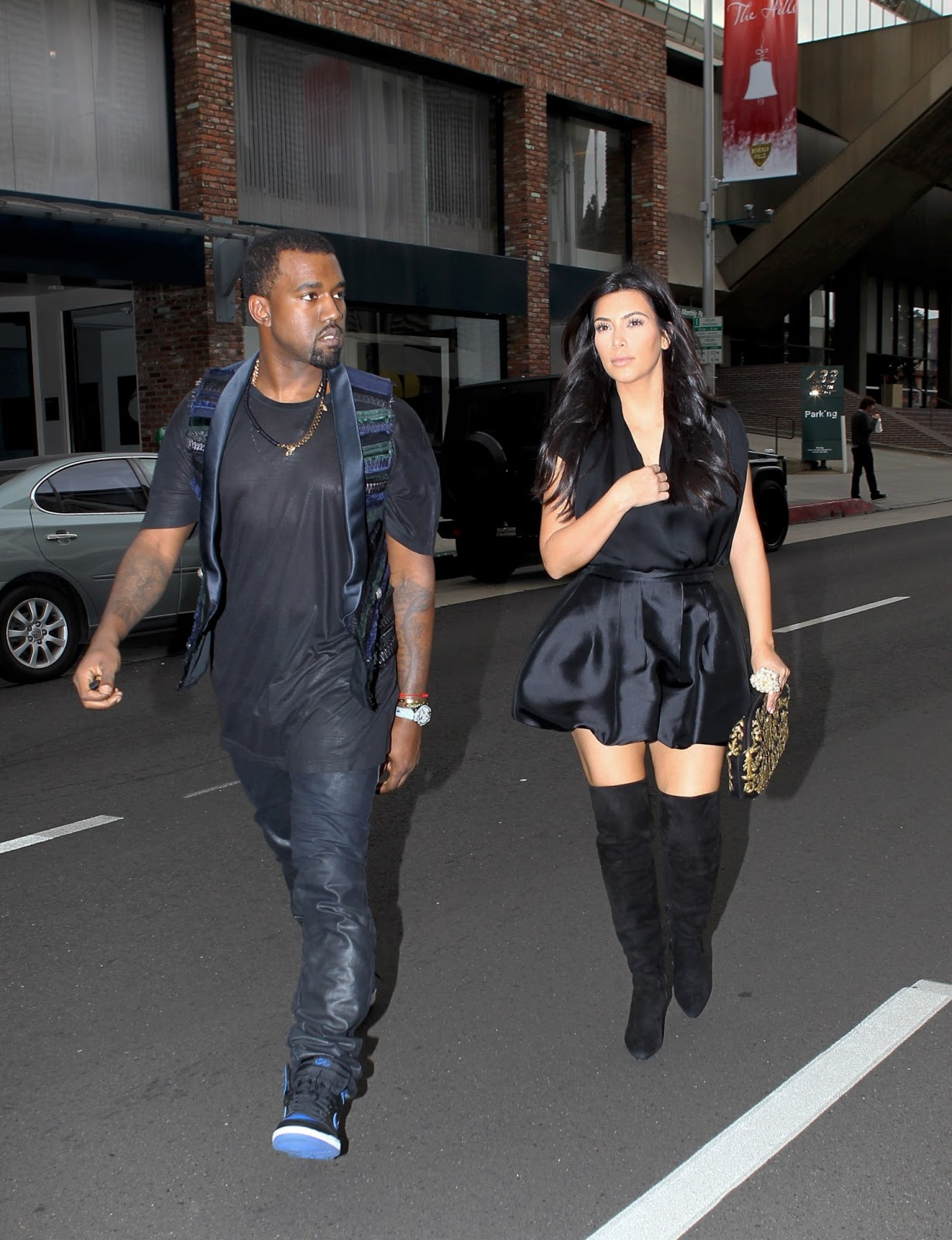 Kim Kardashian Candids In West Hollywood Krazy Fashion Rocks