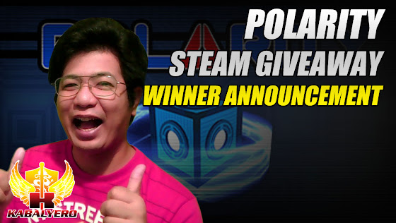 Polarity Steam Giveaway Winner Announcement