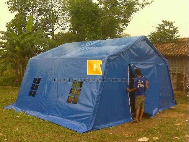 jual tenda peleton, jual tenda barak tentara, jual tenda pengungsian