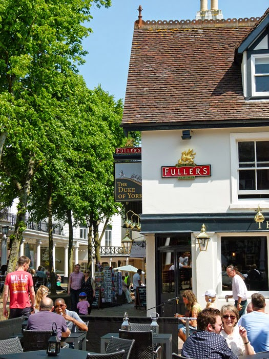 Fuller's, London Pride, Duke of York, Tunbridge Wells