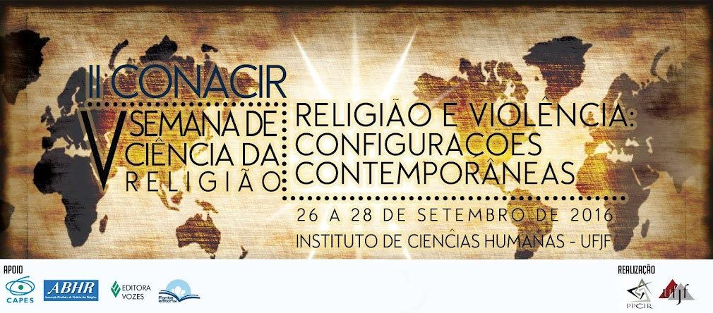 II CONACIR e V Semana de Ciência da Religião da UFJF