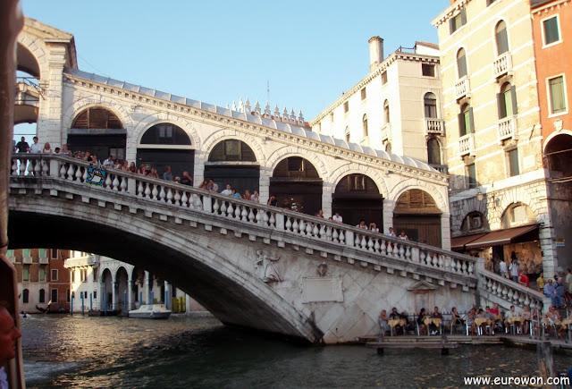 Puente de Rialto en Venecia