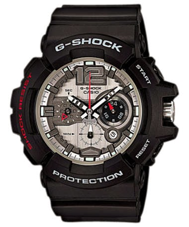 The Black G-Shock GAC-110-1A