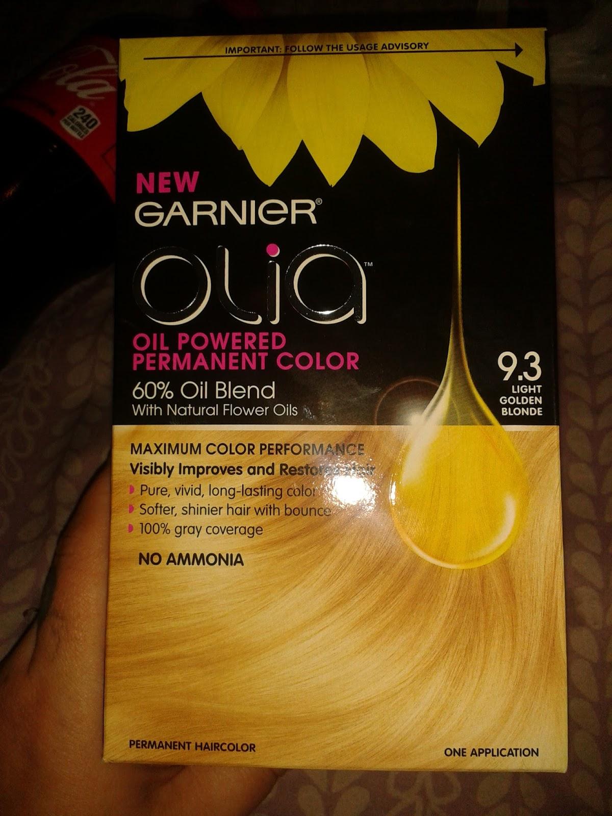 Addict Of Everything Garnier Olia Hair Color
