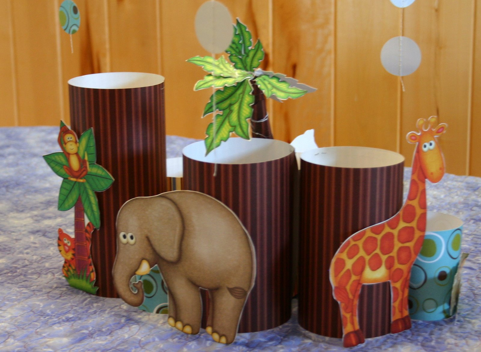 Li 39 l buck 39 s creations jungle safari baby shower decorations for Baby shower decoration safari