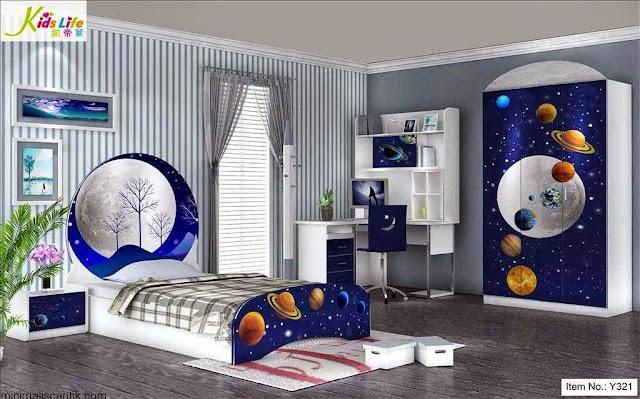 Dekorasi Kamar Anak Laki-laki Modern