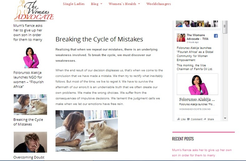 Breaking the Cycle of Mistakes