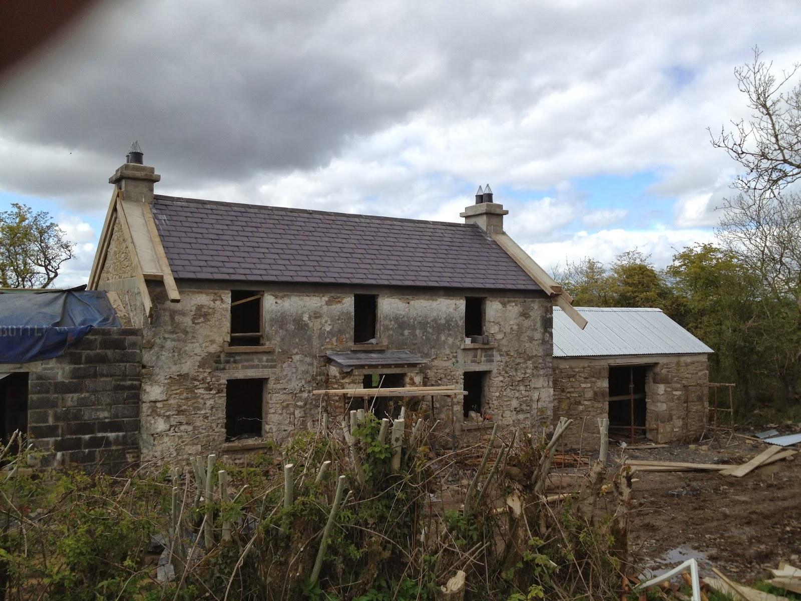 Irish vernacular farmhouse restoration images of for Farn house