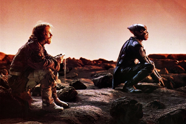 Enemy mine still