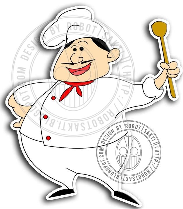 Gambar Chef Kartun