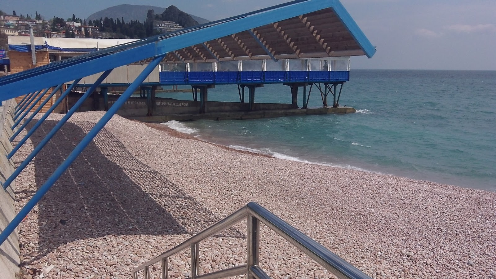 Пляжи в гурзуф фото