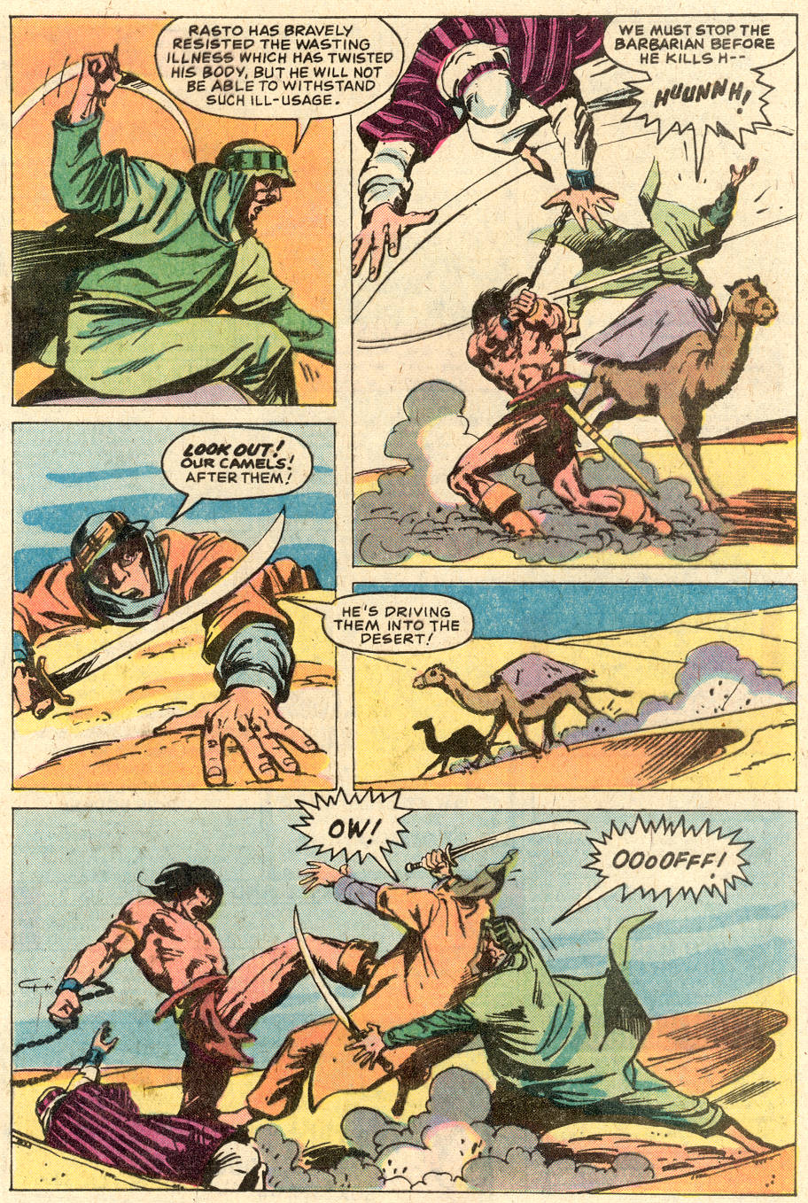 Conan the Barbarian (1970) Issue #116 #128 - English 7