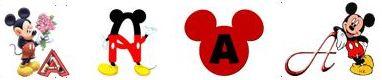 Alfabetos de Mickey
