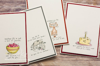 Giggle Greetings Watercoloured Card Set - check them out here and get everything you need to make them