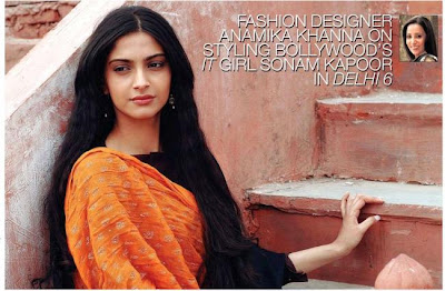 Sonam Kapoor in Delhi 6 Wallpapers