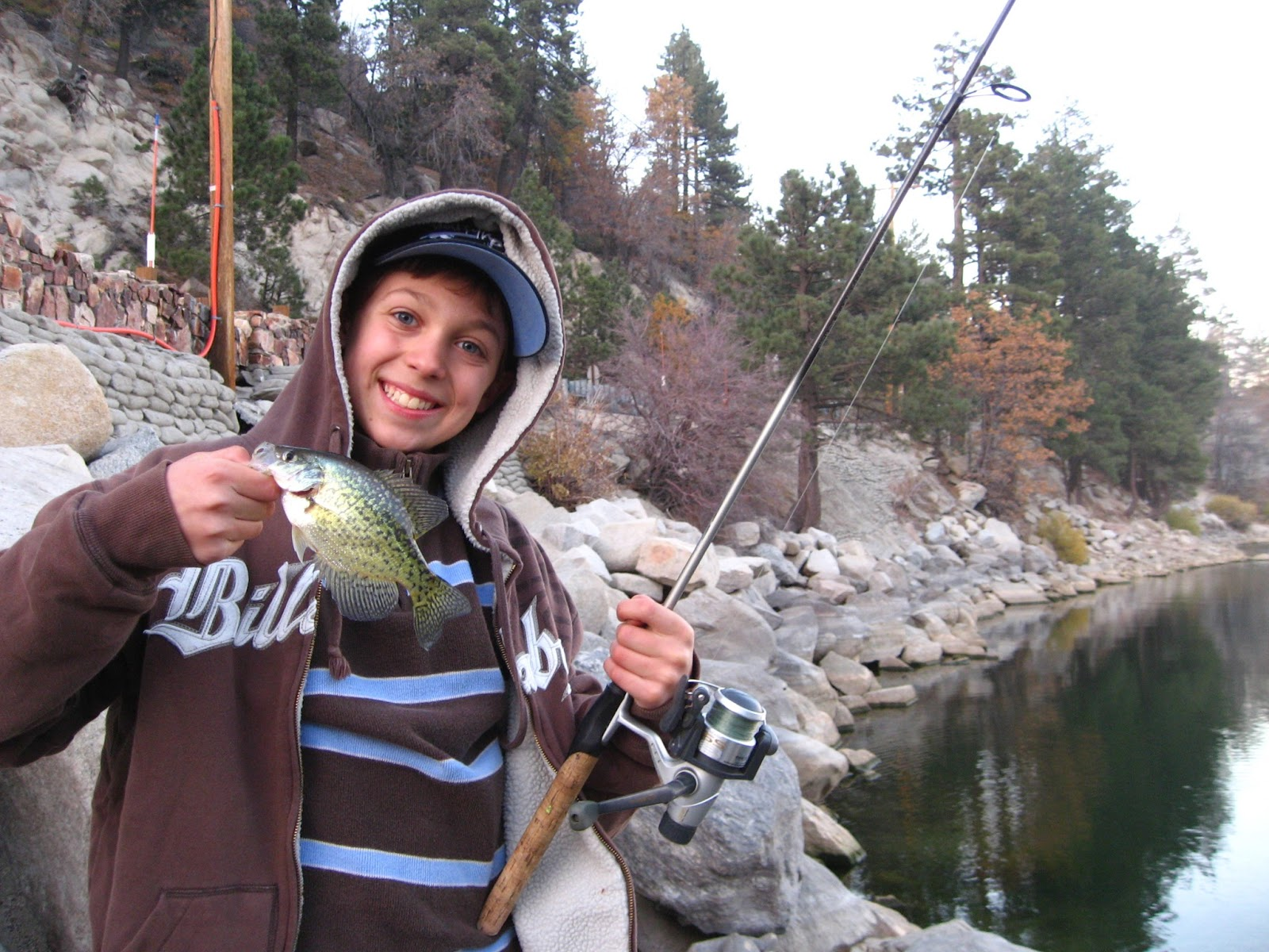 Crappie fishing big bear lake for Fall crappie fishing