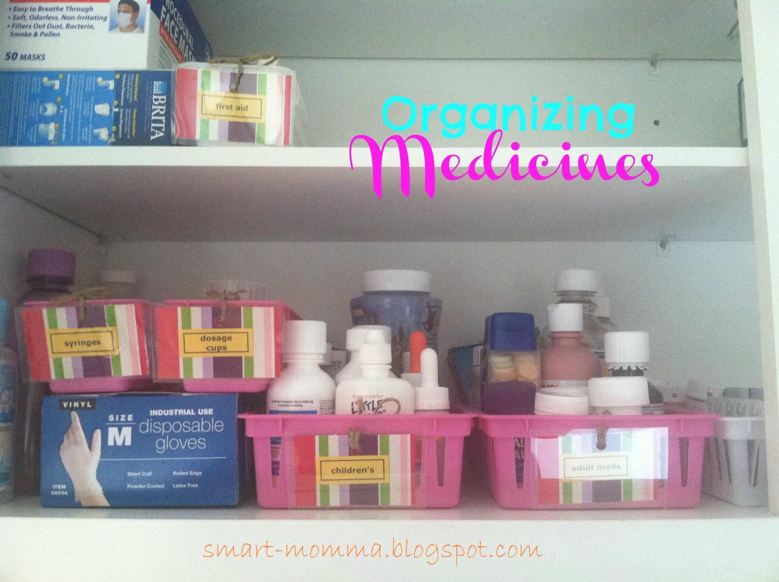 medicine organization, medicine cabinet organization