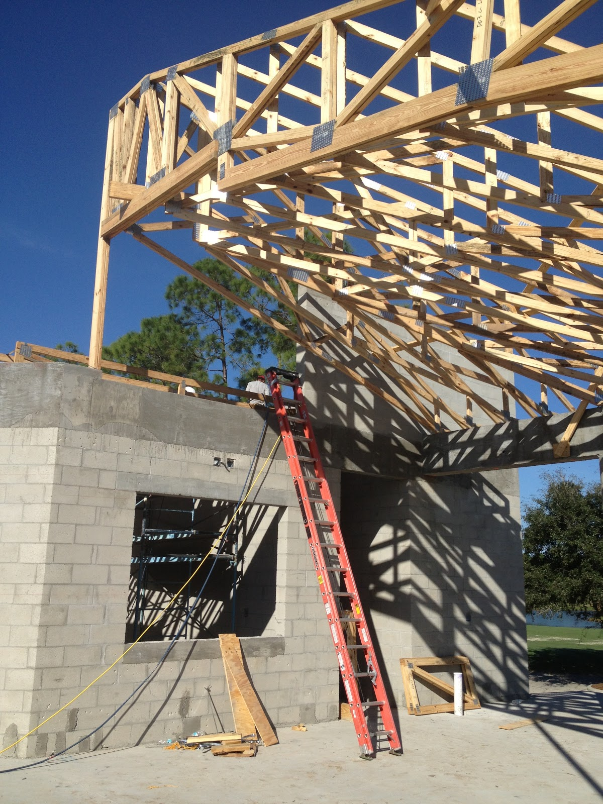 Bcbe construction llc renovation moving along at for 236 naples terrace llc