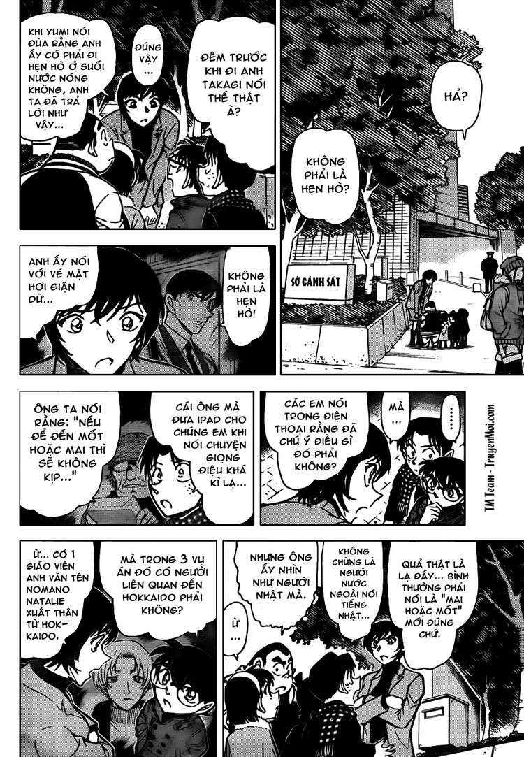 Detective Conan - Thám Tử Lừng Danh Conan chap 806 page 10 - IZTruyenTranh.com
