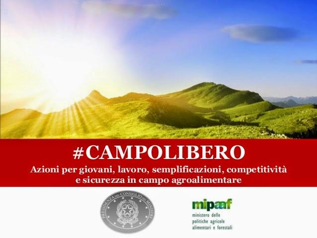 Campolibero incentivi semplificazioni agricoltura