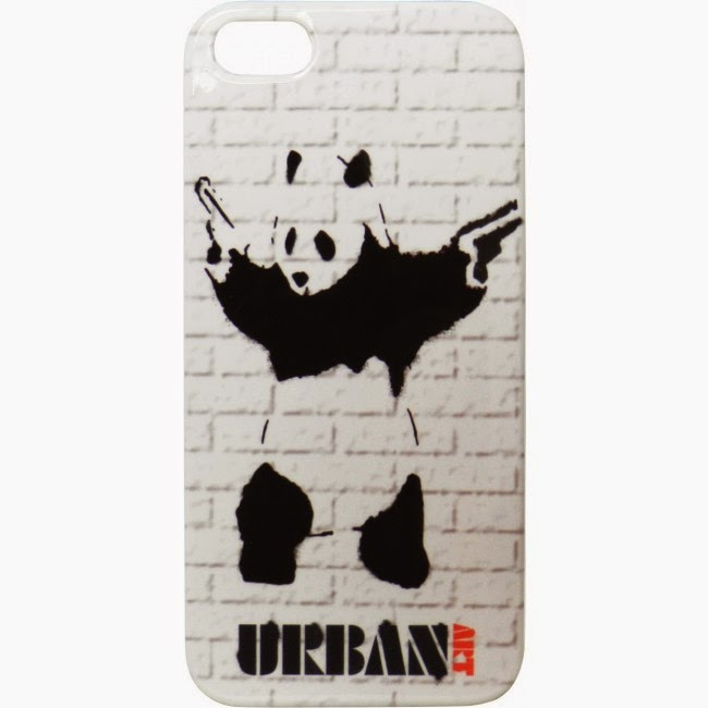 Funda iPHone 5 Panda Pistolas
