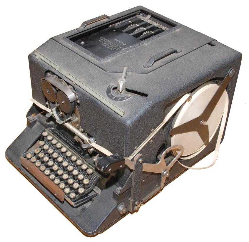 Exo Cruiser: World War II Rotor-Based Cipher Machine SIGABA Enigma Machine Message