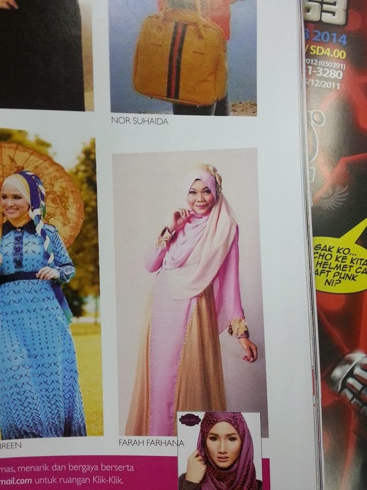 Spotted me in Hijab Fesyen Magazine