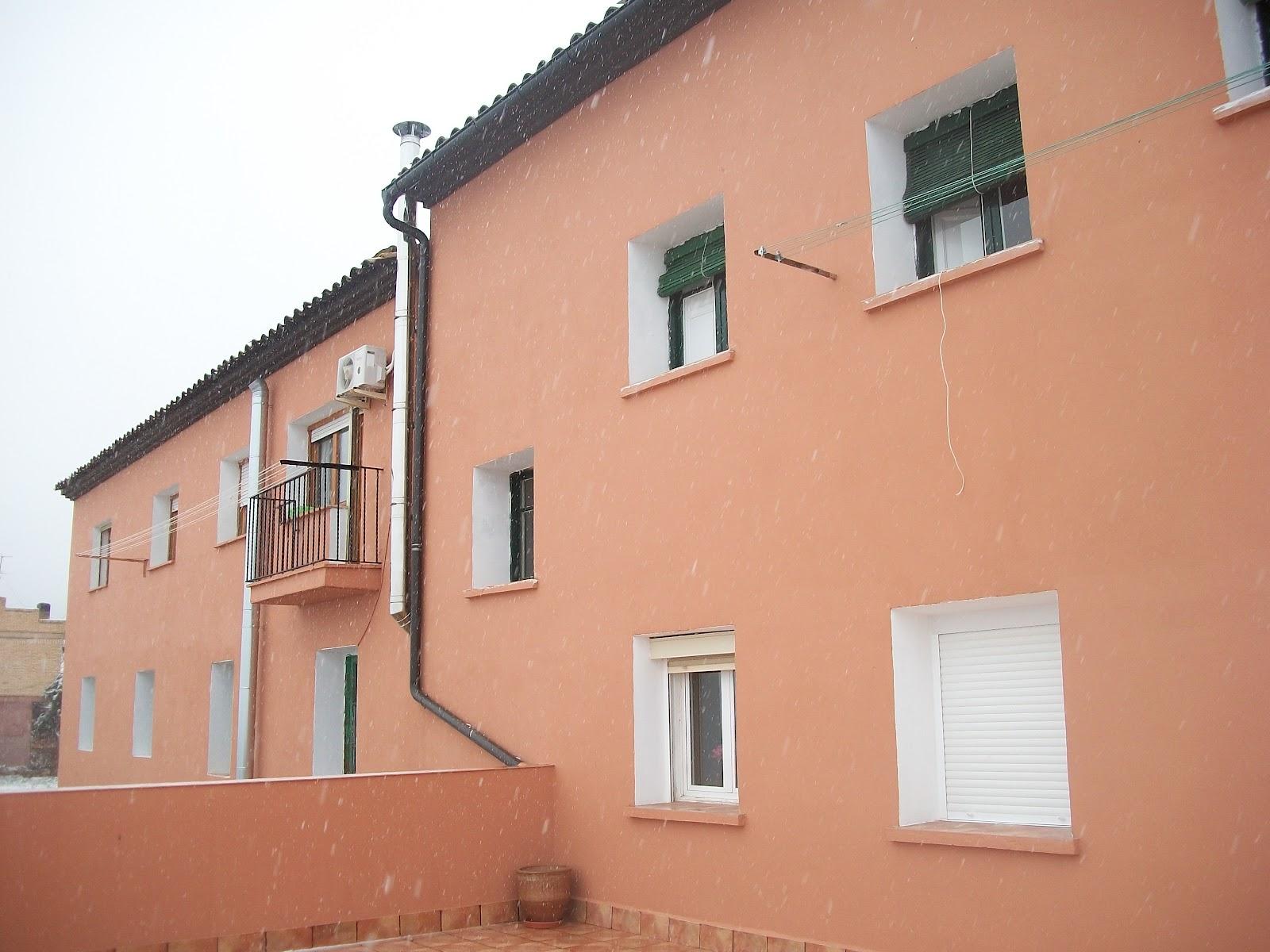 Servicios de pintura en zaragoza pintado de fachada - Pintura para fachada ...