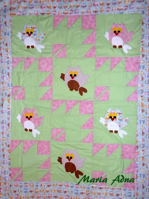 infantil em patchwork, patchwork applique blanket, patchwork infantil