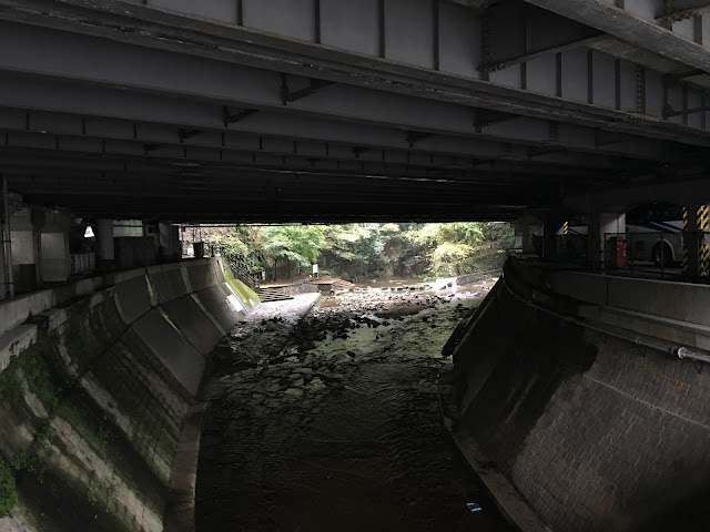 kobe nunobiki fall waterfall japan